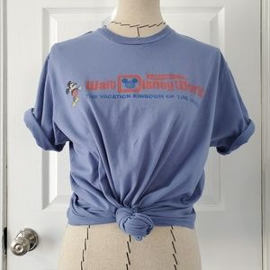 Vintage Disneyworld Florida Blue Short Sleeve Tee